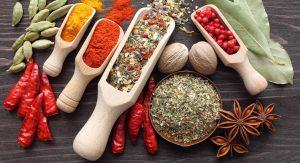 ادویه جات و سبزیجات خشک
