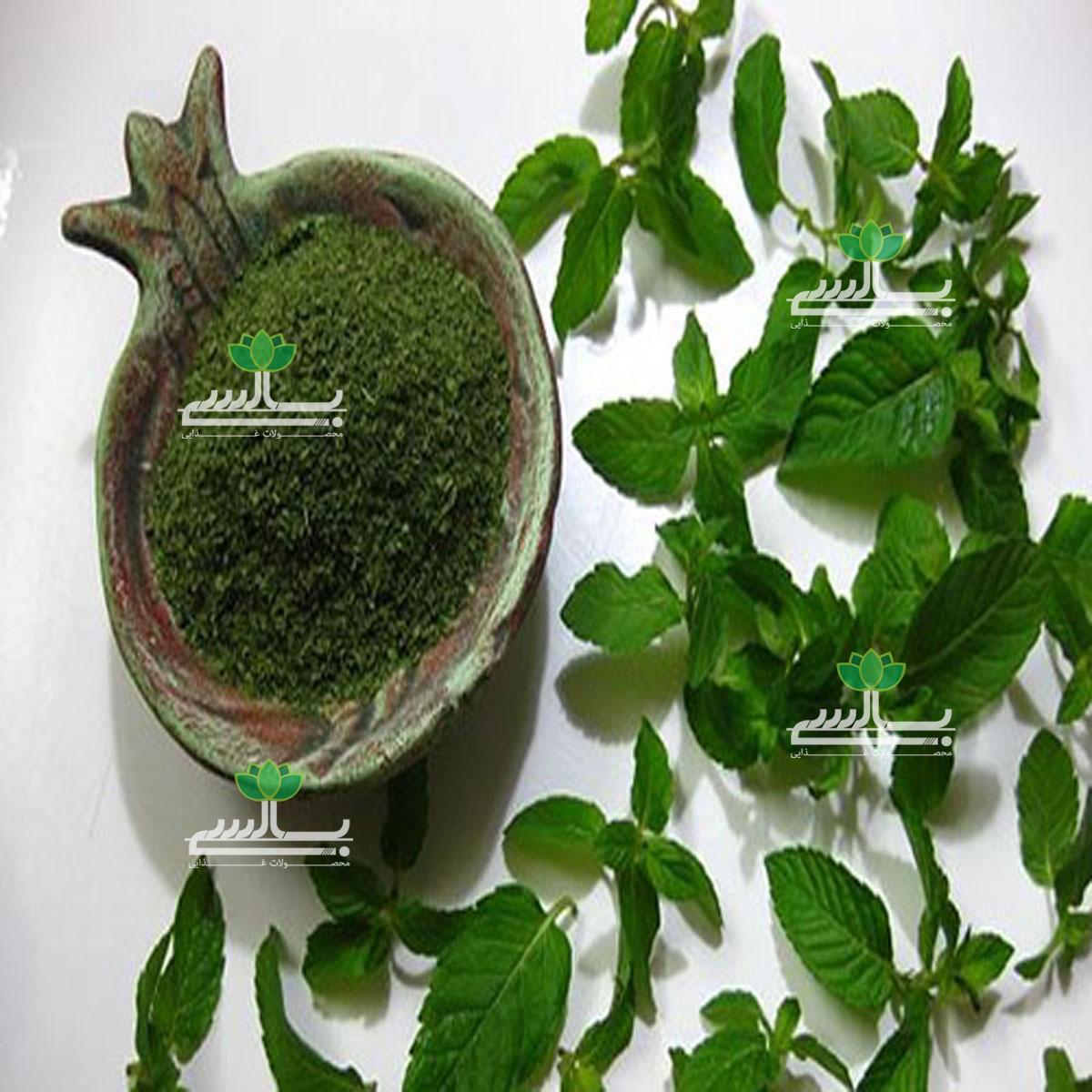 سبزی نعناع خشک