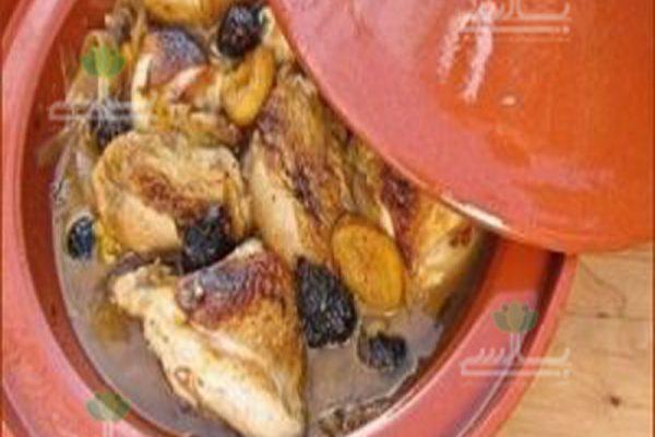 خورش مرغ و انجیر