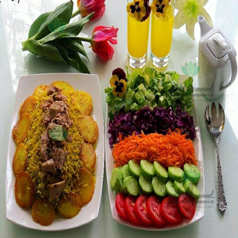 Image result for شوید پلو با تن ماهی