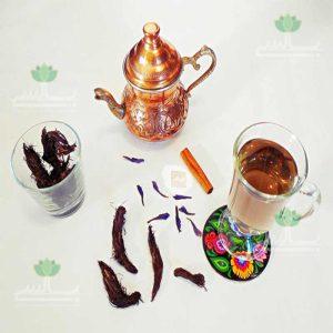 طرز تهیه دمنوش گل گاوزبان و سنبل الطیب و لیمو عمانی