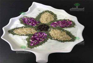 ماست و گل محمدی