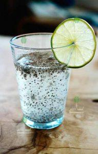 تخمه شربتی در آب