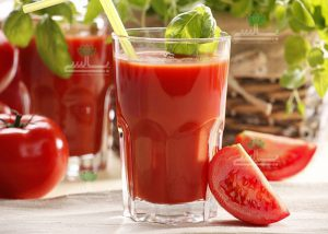 عکس آب گوجه