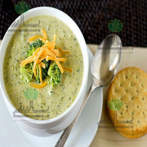 عکس سوپ بروکلی و چدار