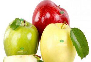 عکس سیب زرد،سرخ، سبز