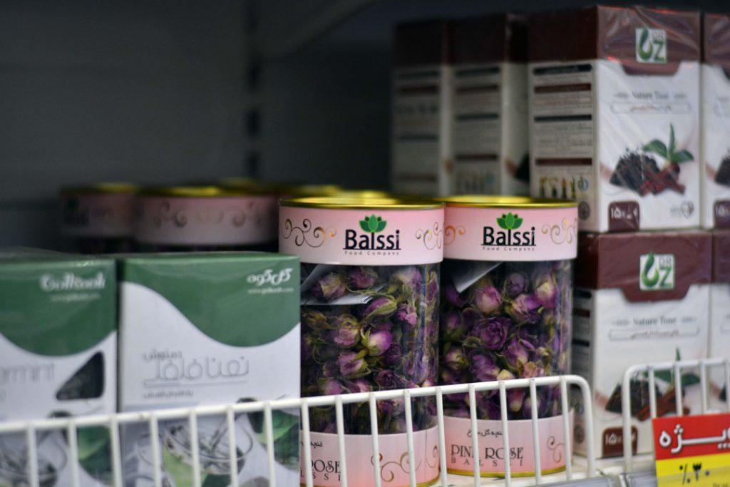 عکس غنچه گل سرخ بالسی در فروشگاه یاس تهرانپارس