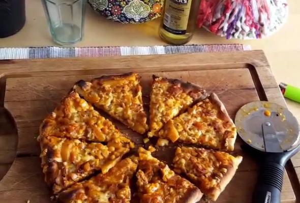 پیتزا قیمه